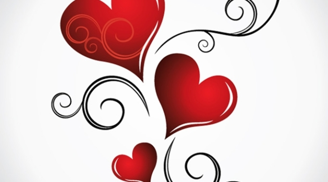 Vil du bli min Valentin?