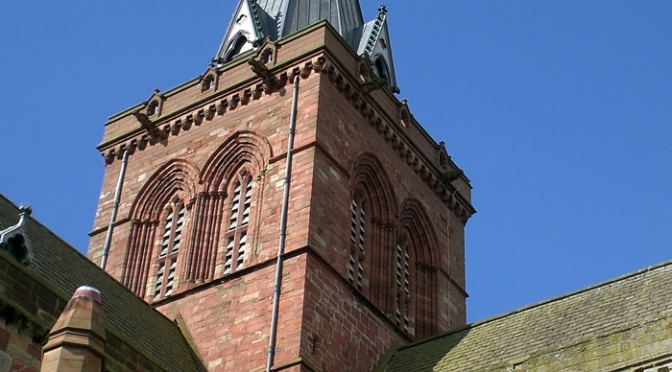 St. Magnuskatedralen, Kirkwall, Orknøyene