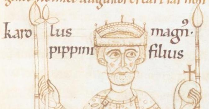 2. april 742 – Karl den store blir født